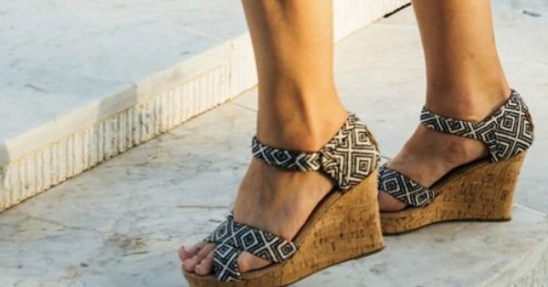 These bold wedges are ready to party.