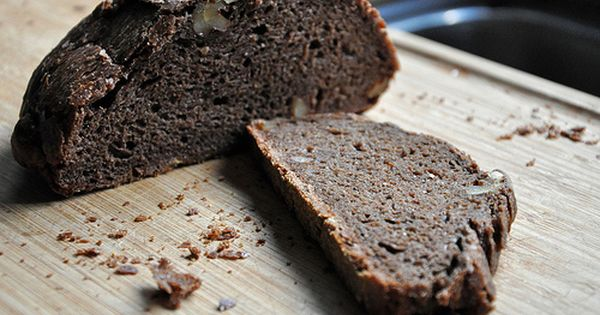 no knead chocolate walnut bread | Baked | Pinterest | Breads ...