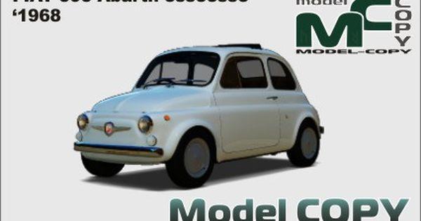 Fiat 595 Abarth Esseesse 1968 3d Model Modello 3d Modelle