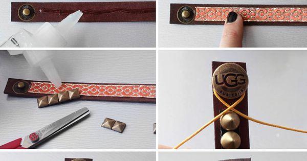 I Spy DIY: MY DIY | UGG Australia Bracelets diy craft