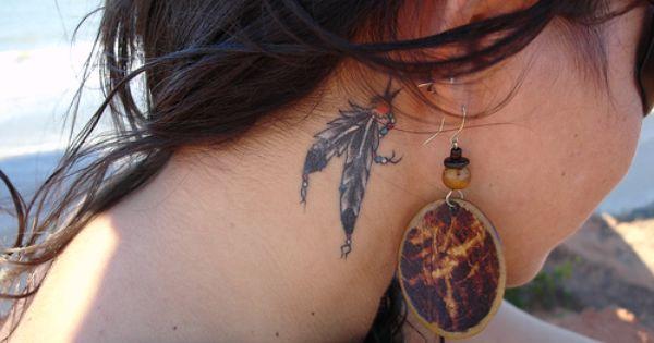 Once Again My Tattoo Girl Neck Tattoos Side Neck Tattoo Behind Ear Tattoo