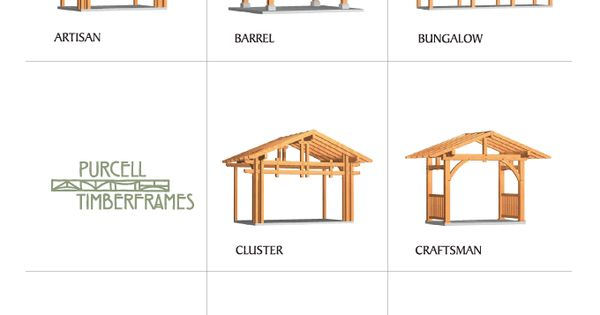 Timber Frame Components Мое Pinterest 파고라 목공예 및 오두막집
