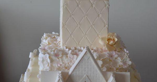Pinterest Wedding Cakes: Church Wedding Cake