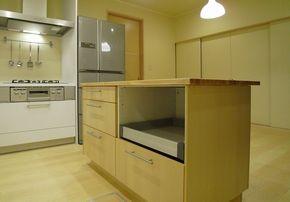 Ikeaカウンター L型キッチン キッチン 作業台 キッチン