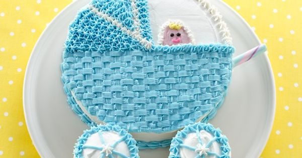 Your baby shower guests will be amazed at this adorable baby buggy