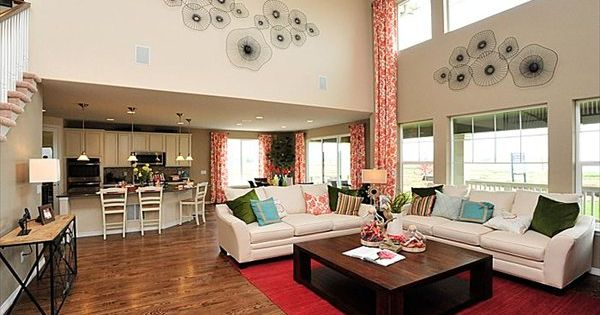 We Love This Open And Spacious Living Space From Lennar