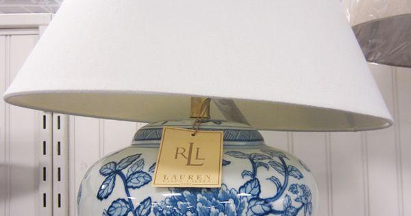 Ralph Lauren Lamp At Tj Maxx Interiors Inspiration Trad