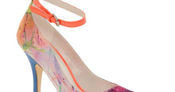 ALDO McCamish flower high heel sandals