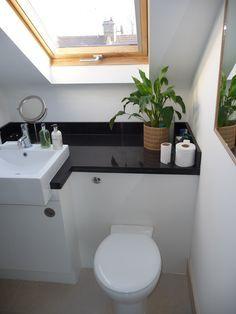 Loft Conversion Ideas With Ensuite Google Search Small Attic Bathroom Attic Shower Loft Bathroom