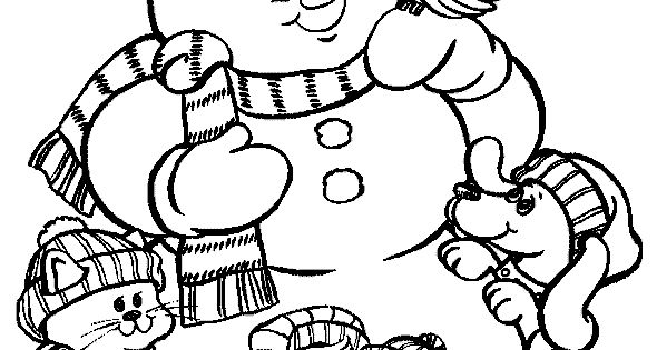 snowman coloring pages crayola back - photo#19