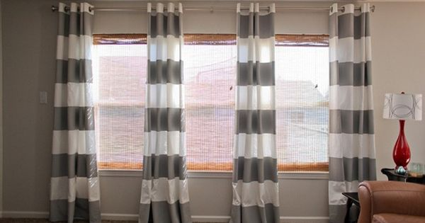 "Window treatment for living room- ""Pretty much the best website ever for"