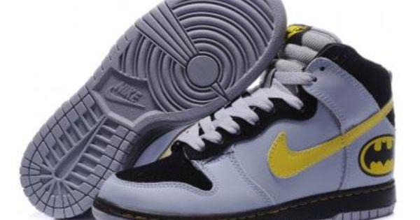 Nike Dunk High Men's Batman Shoe Grey