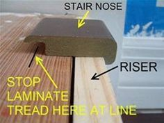 How To Install Laminate Flooring On Stairs Installing Laminate Flooring Laminate Flooring On Stairs Laminate Stairs