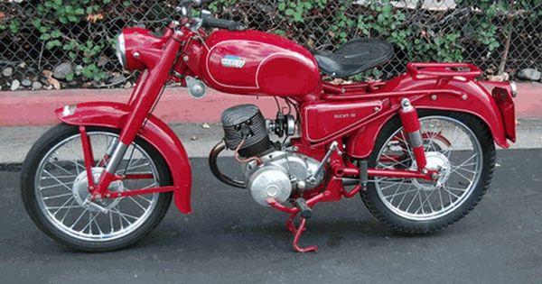 Vintage 1957 Ducati 98T Turismo Retro Motorcycle ...