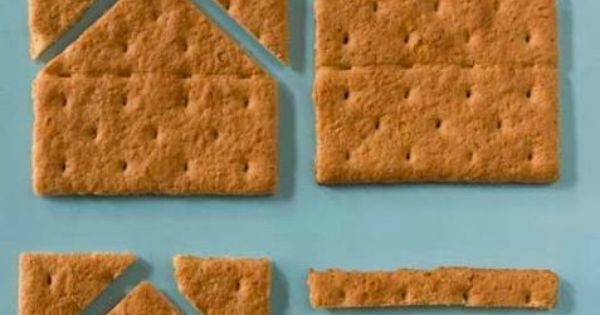 how to make a graham cracker house
