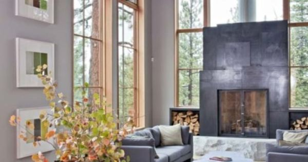 Beams. Tahoe Ridge House by WA Design | HomeDSGN, a daily source
