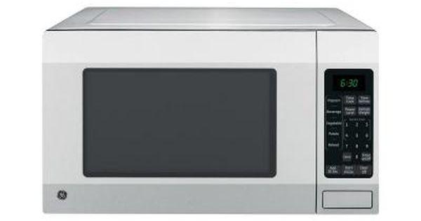 Ge 1 6 Cu Ft Countertop Microwave Oven In Stainless Steel Jes1656srss Countertop Microwave Oven Stainless Steel Countertops Stainless Steel Oven
