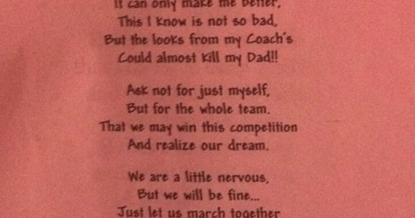 Competition Prayer Cheer Pinterest Colorguard