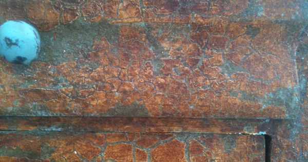 Cracked Venetian Plaster Over Provence Chalk Paint 174 By