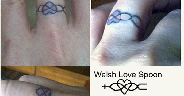 finger tattoo welsh love spoon or something with three strand bc a chord of three strands is. Black Bedroom Furniture Sets. Home Design Ideas