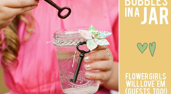 vintage keys, mason jars and soap mix = bubble fun for kids