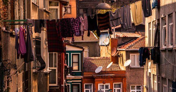 back yard buildings Istanbul