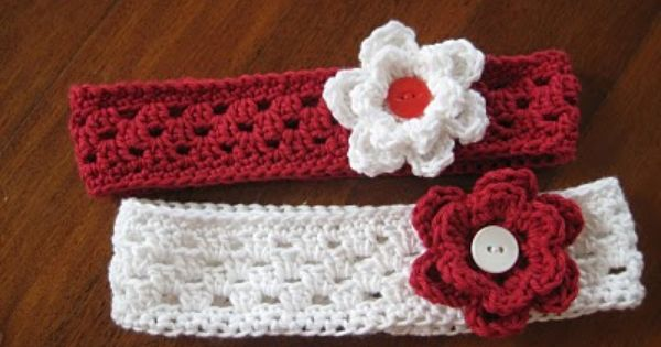 Cutest Little Headbands For Girls Crochet Pinterest