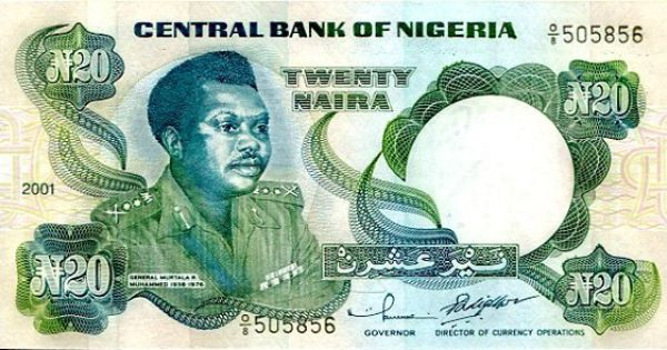 Economy The Picture Above Shows The Twenty Naira Naira Is