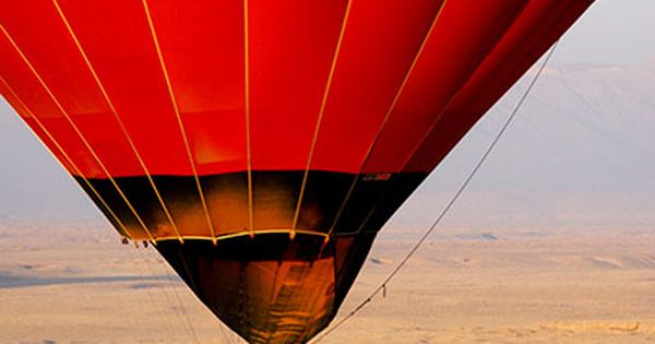 Luxor, Eygpt in a hot air ballon. bucketlist.
