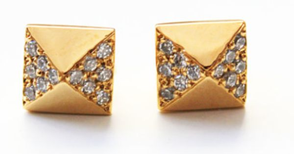perfect earrings to go with Burberry outfits that I wish I owned!