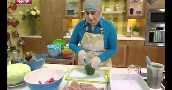 صينية الدجاج والخضراوات بالفرن من مطبخ منال العالم Cooking Videos Food Cooking