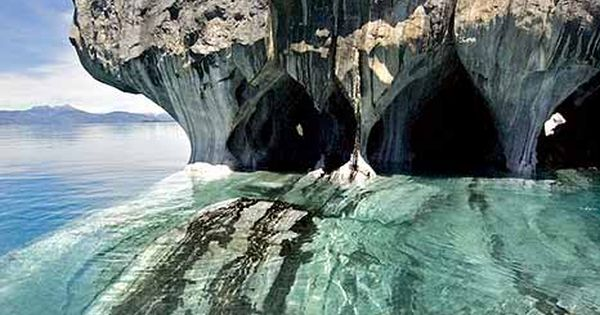 Marble Caverns of Carrera Lake, Chile ravenectar earth planet beautiful places travel
