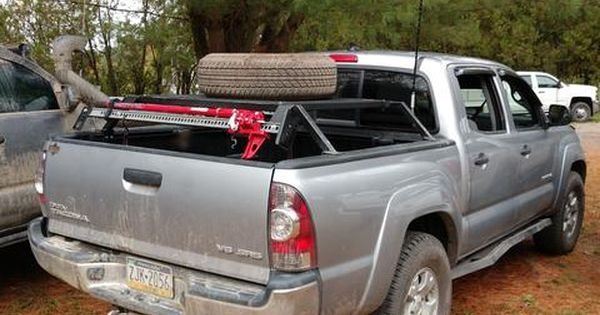 2nd Gen 05 15 Toyota Tacoma Bed Bars Toyota Tacoma Cargo Carrier Cargo Carriers