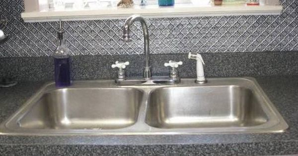 How To Remove Rust From Metal With Images Tin Backsplash