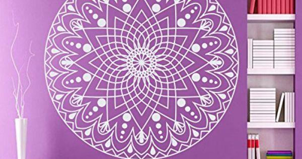Wandtattoo ornament indischer mandala marokkanisches for Raumgestaltung yoga