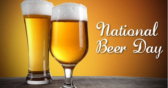 Happy National Beer Day Hope Everyone Is Enjoying Their Friday Patiofurniture Outdoor Comfy Amazing Love Beautifu National Beer Day Beer Pilsner Glass