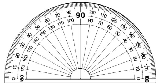 protractor printable - Google Search | Maths | Pinterest ...