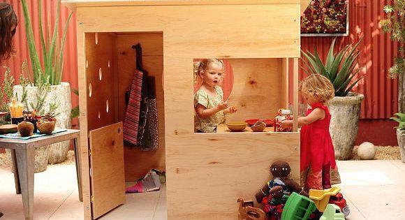 indoor playhouse spielhaus f rs kinderzimmer. Black Bedroom Furniture Sets. Home Design Ideas