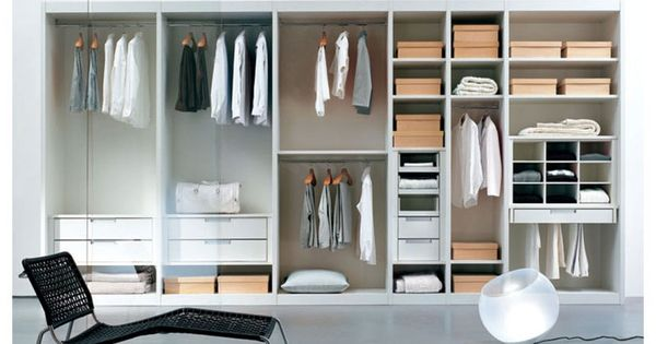 Begehbarer kleiderschrank design  Kleidung Begehbarer Kleiderschrank Zimmer ATLANTE comp.02 | DIY ...