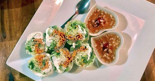Baramee Thai Bistro Mali Thai Roll Food Spring Rolls Dishes