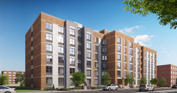 Renderings Revealed For 1000 Fox Street Affordable Housing At Hunts Point The Bronx With Images The Bronx New York Affordable Housing Street