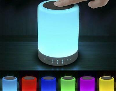 Sponsored Link Elecstars Touch Lamp Light With Bluetooth Speaker Dimmable Smart Touch Control Touch Lamp Touch Table Lamps Led Night Light