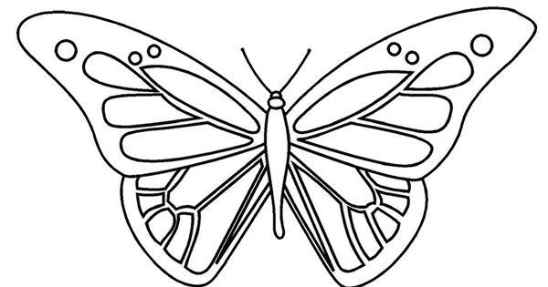 papillon dessin - Recherche Google | a imprimer: papillons | Pinterest