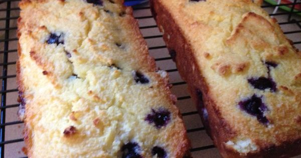 (Paleo) Lemon Blueberry Bread : 1 cup + 2 TBSP Blanched Almond