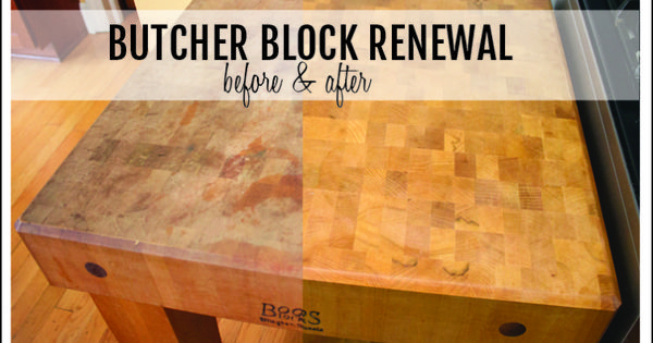how to refinish a butcher block diy pinterest