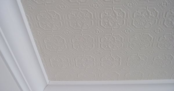 Paintable textured wallpaper how and where to use it - Textured wallpaper on ceiling ...