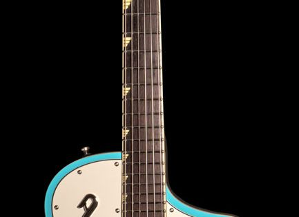 Duesenberg Julia Narvick Blue Julia Is A Chambered Solidbody