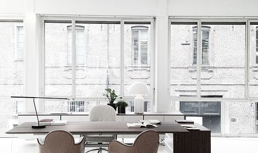 Silver blonde my ideal office would def inspire for Ideal office design