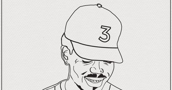 Download A Free Coloring Book Based On The Lyrics From Chance The Rapper S New Chance The Rapper Art Coloring Books Coloring Book Chance