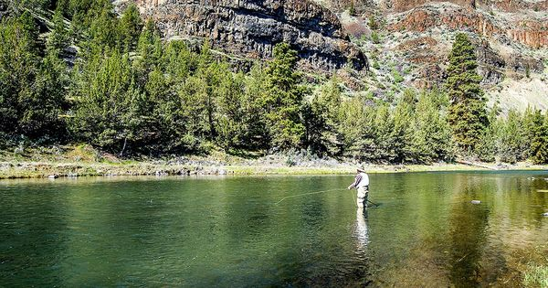Fly fishing on the crooked river in prineville oregon for Prineville reservoir fishing